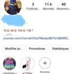 Compte instagram a 10k