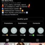 Compte Instagram d'une marque