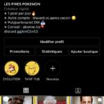 Compte Instagram d'humour avec 18k d'abonnés français