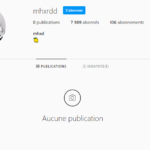 Compte Instagram 7.9k (commu très actif)