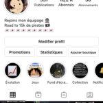 Compte Instagram 10,3k Manga