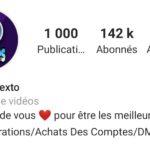 Compte +140k français