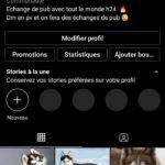 Compte instagram a 2.1k d'abonnés
