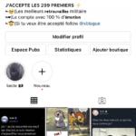 Compte Instagram 22k