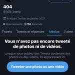 Compte Twitter 2.8K
