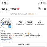 Compte Instagram 100k !