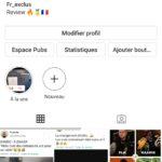 Compte Instagram 17k