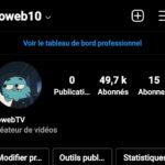 Vend compte instagram 49 000 Followers