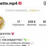 Compte instagram 320k [FR]