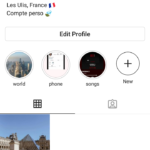 Compte perso instagram